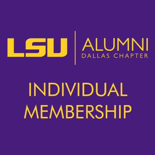 LSU Alumni Dallas - Individual Membership