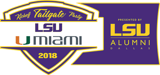2018 LSU-Miami Kickoff Tailgate Party