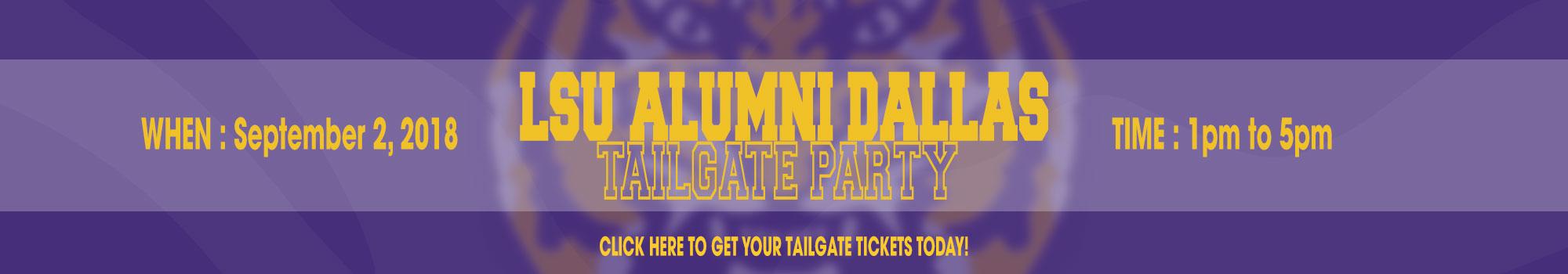 LSU vs Miami - Advocare Classic - LSU Tailgate - LSU Alumni Dallas Chapter