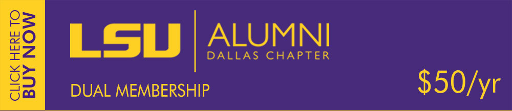 LSU Alumni Dallas Membership - Dual