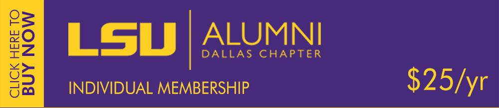LSU Alumni Dallas Membership - Individual