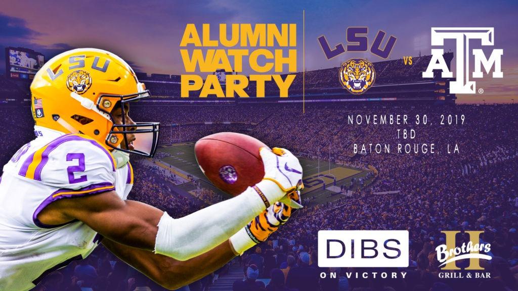 LSU Alumni Dallas Watch Party Locations