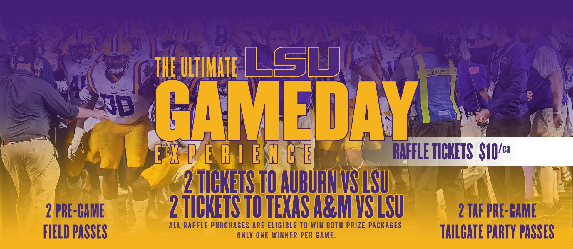 The Ultimate LSU Game Day Experience