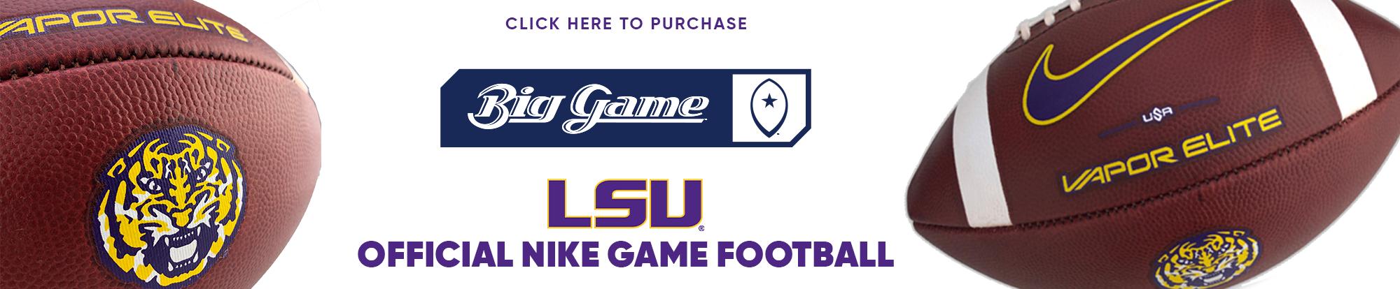 BIG GAME USA - OFFICIAL LSU NIKE GAME FOOTBALL